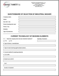 Questionnaire Forms